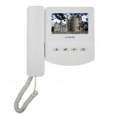 Монитор видеодомофона AT-VD 433C K EXEL (белый) (= QM-433C K EXEL)