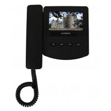Монитор видеодомофона AT-VD 433C K EXEL (черный) (= QM-433C K EXEL)