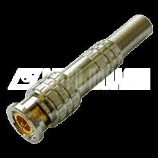 РАЗЪЕМ TS BNC штекер под винт с пружиной, металл