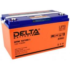 Аккумулятор 12В 100 А∙ч (DTM 12100 I)