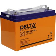 Аккумулятор 12В 100 А∙ч (DTM 12100 L)
