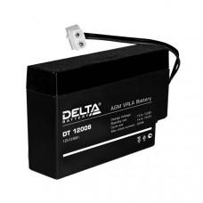Аккумулятор 12В 0,8 А∙ч (DT 12008)
